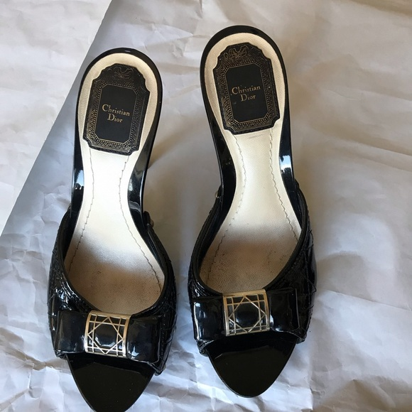 b8eee4b334 Dior Shoes - Christian Dior Shoes Size 38